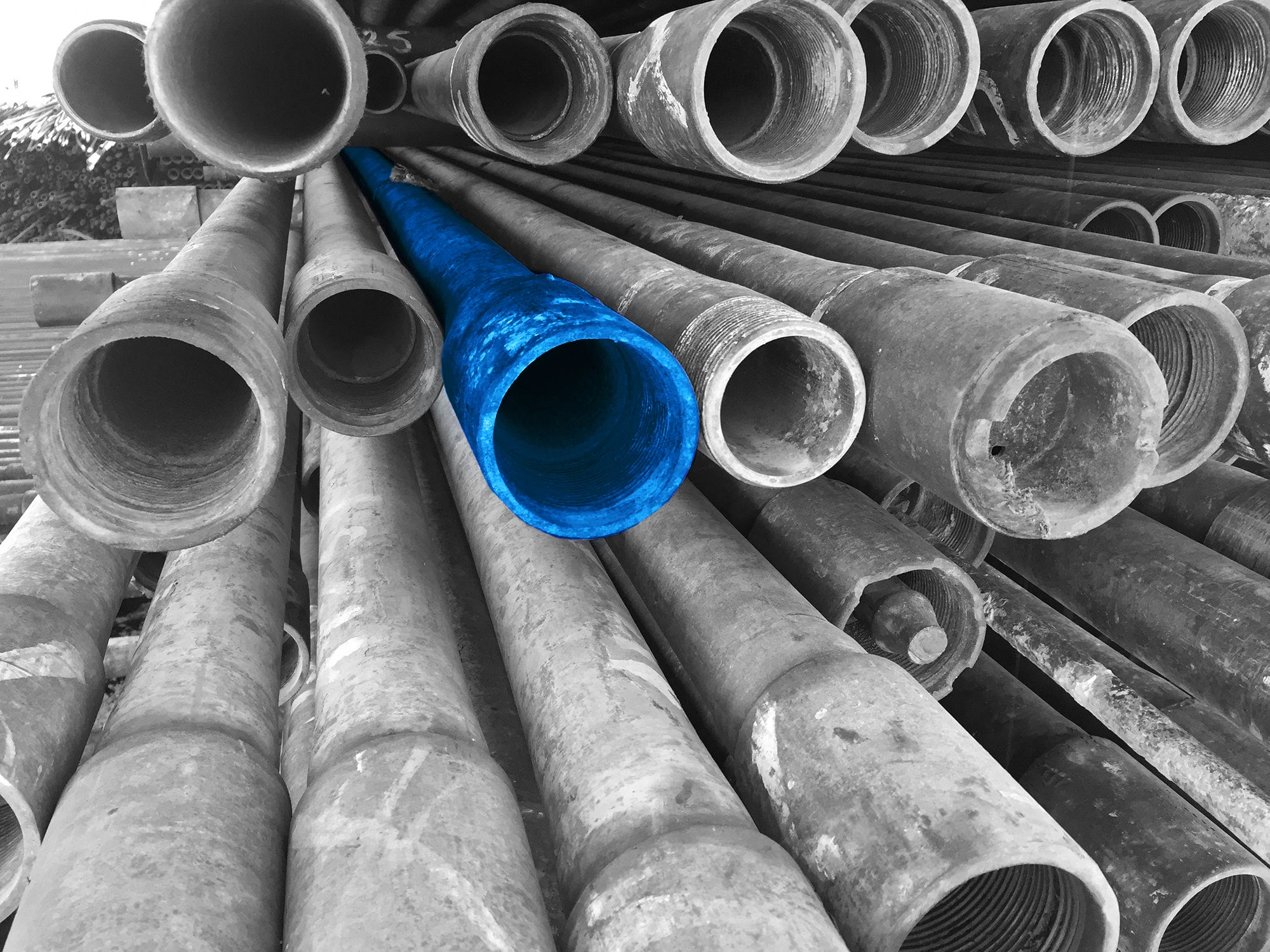 Brunnenbau Südtirol Rohre